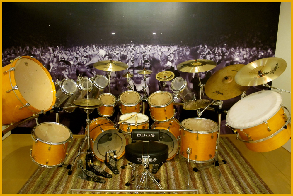 photoblog image drummers view..