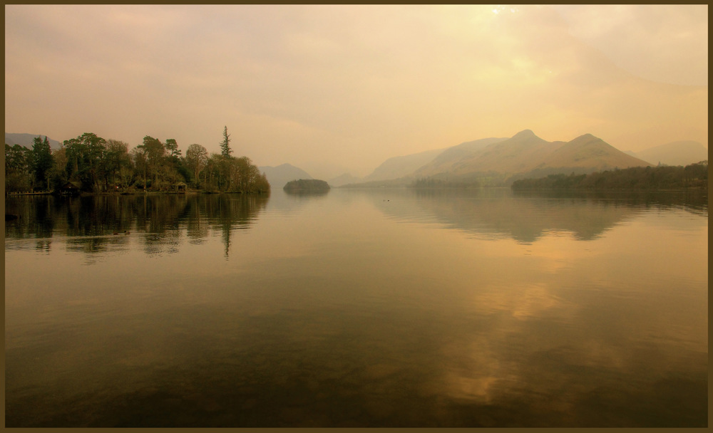 photoblog image Derwentwater evening