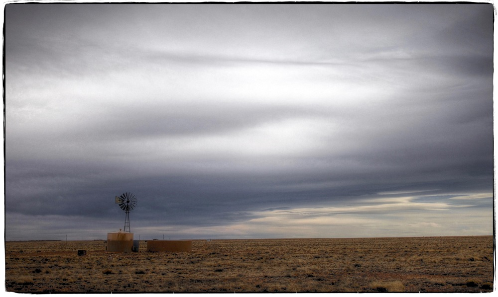 photoblog image On the lone prairie...