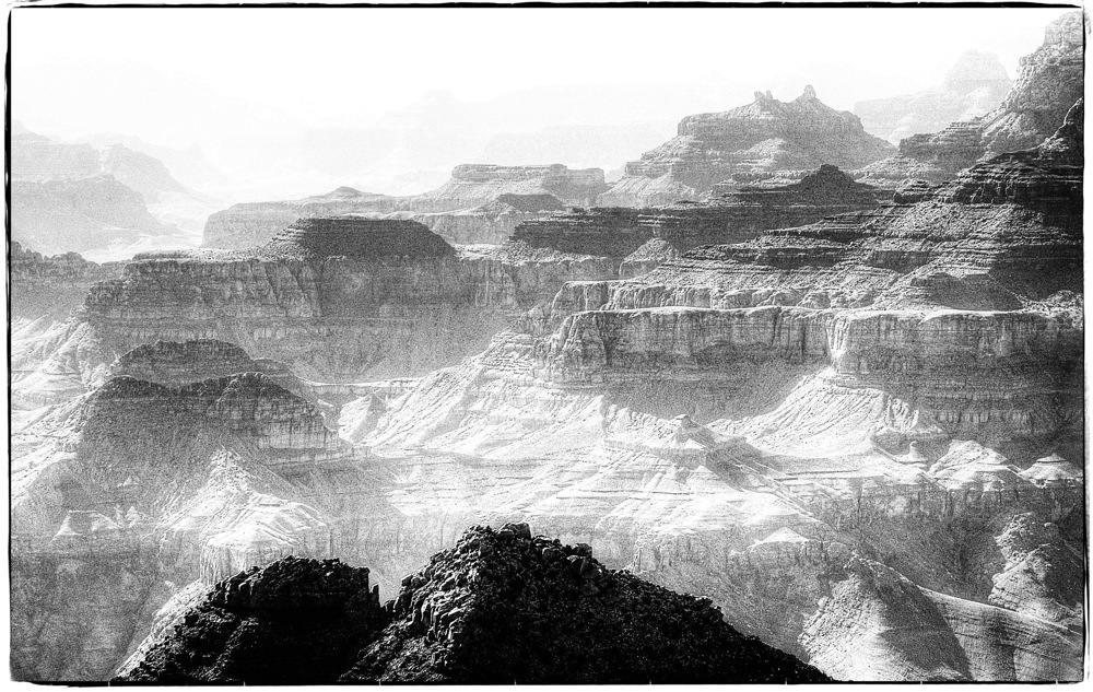 photoblog image Black to white canyon