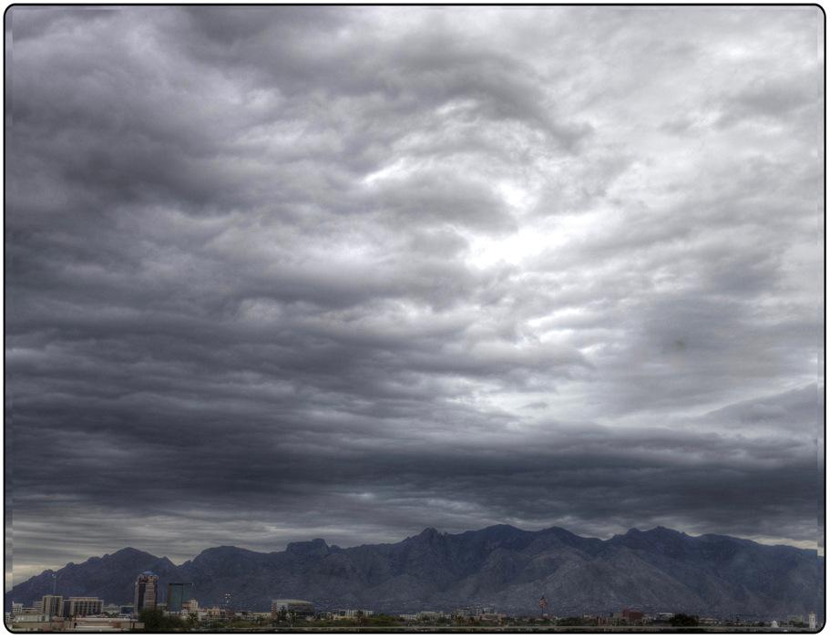photoblog image Storm over Tucson