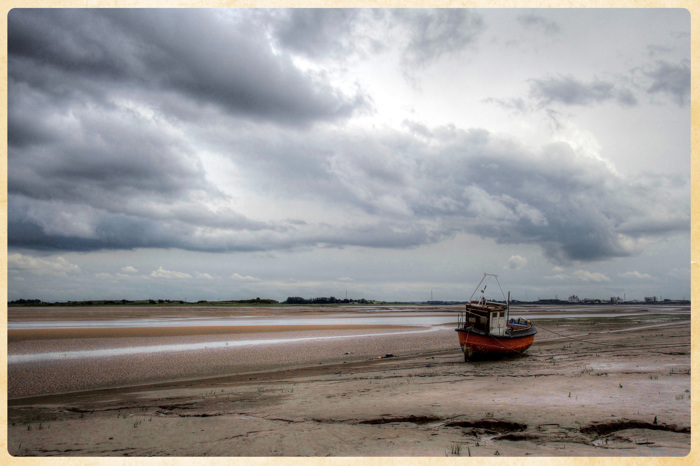 Low tide on the Wyre