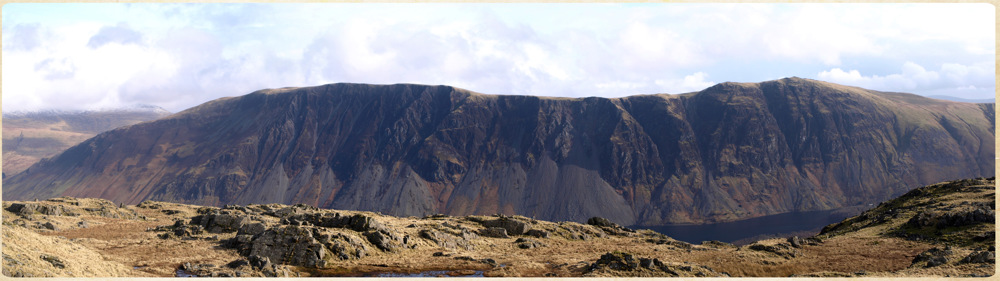 photoblog image The Wasdale screes.